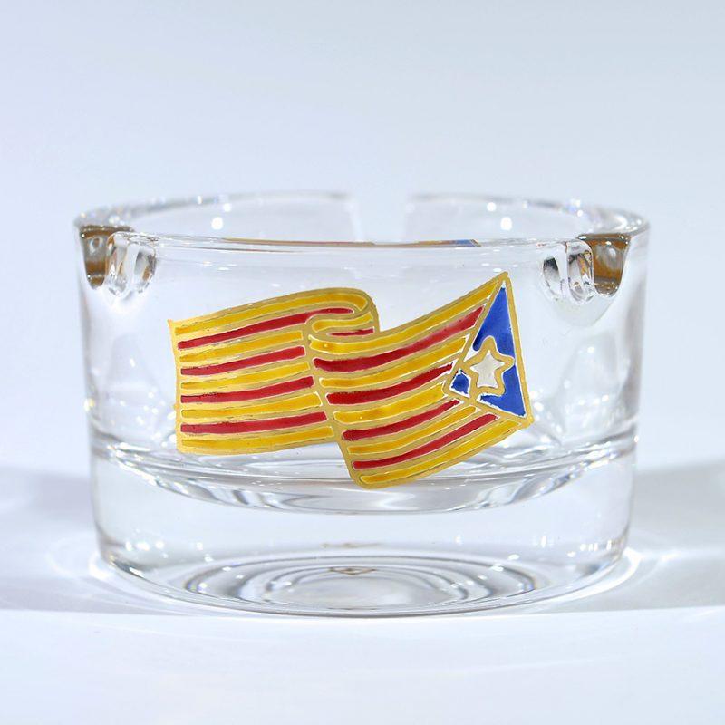 Cenicero estelada vidrio