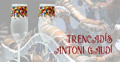 Copas Antonio Gaudí /Copes Antoni Gaudí