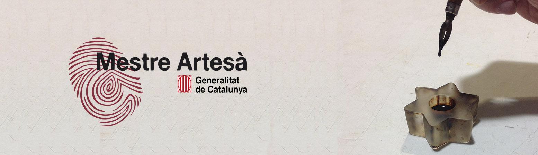 Diploma Mestre Artesà - Generalitat de Catalunya